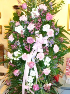 funeral eases spray