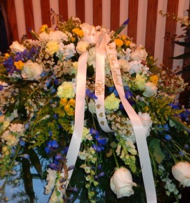 Blooming Casket Spray for Funerals