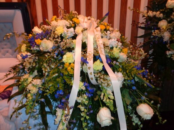 Blooming Casket Spray for Funerals